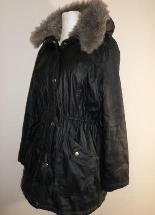Шикарная парка, куртка, курточка, еврозима, спинка длиннее