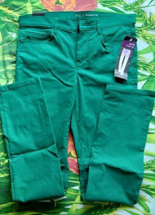 Джинсы штаны летние стрейчевые