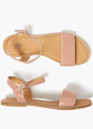 Кожаные сандалии marks & spencer оригинал!