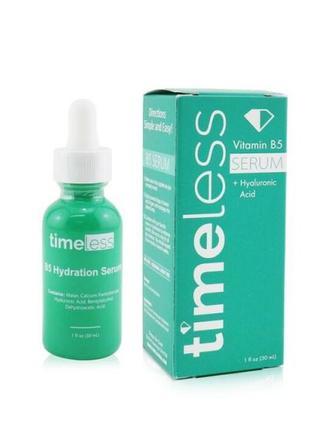 Сыворотка с витамином b5 и гиалуроновой кислотой timeless vitamin b5 serum