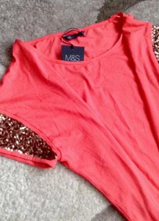 Яскрава блуза marks&spencer