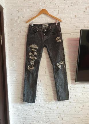 Стильные рваные джинсы topman