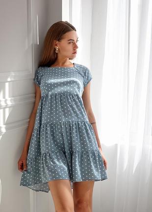 Мини платье 42-48 р.