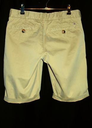 Tommy hilfiger шикарные брендовые шорты - s - m
