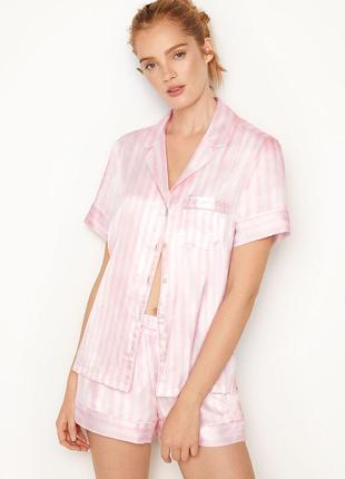 Шикарная сатиновая пижама от victoria's secret 🍒