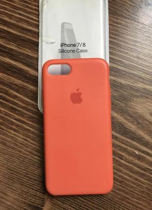 Sillicone case iphone 7/8