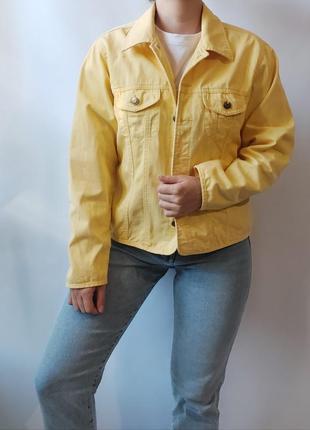 Джинсовая/хлопковая куртка от американского бренда talbots