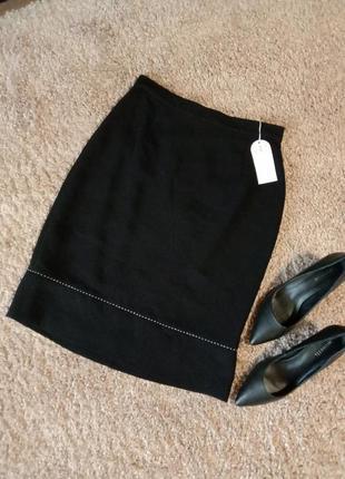Классическая прямая юбка