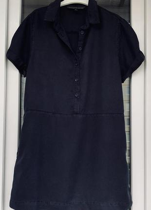 Topshop стильное платье-рубашка из лиоцелла