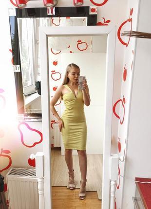 Неоновое платье asos