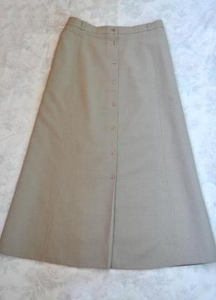 Классическая юбочка в пол на пуговичках