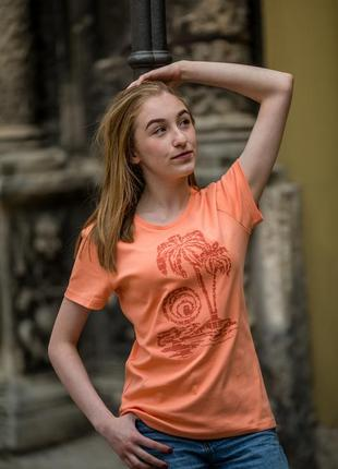 Футболка женская «пальма» batiar