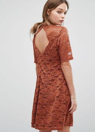 Кружевное/ажурное платье new look
