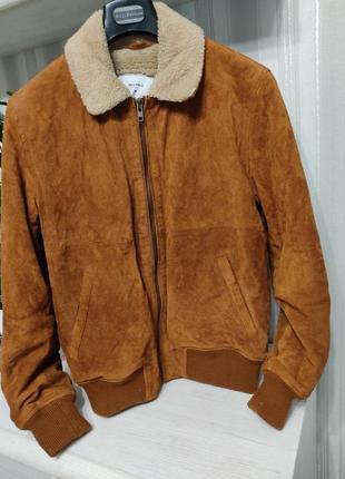 Куртка дубленка кожа