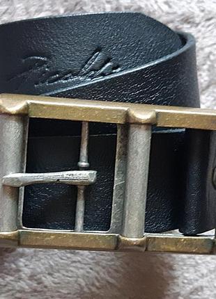 Picaldi мужской кожаный ремень с большой пряжкой