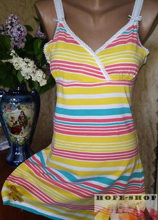 💞будуарное платье,ночная рубашка,сорочка на бретельках 44/46