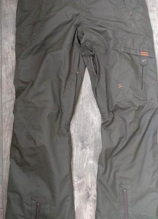 Штаны лыжные m размер 48 мембранные мужские хаки wedze германия