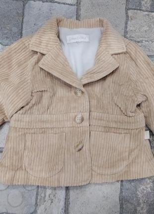 Вельветовий піджак