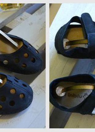 Кожаные сандали inblu