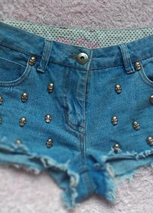 Очень классные джинсовые шорты denim co