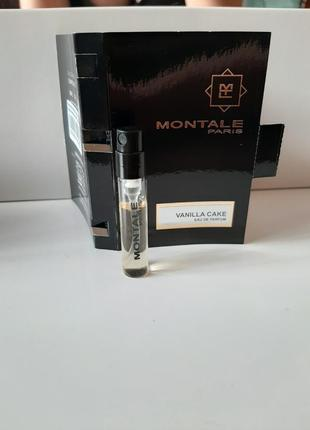 Пробник парюмированная вода montale vanilla cake 2 мл