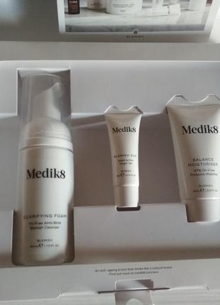 Medik8 набор для проблемной кожи/анти акне/высыпания/clear skin /чистая кожа