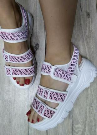 Спортивные босоножки 🔥 платформа сандали босоніжки липучки