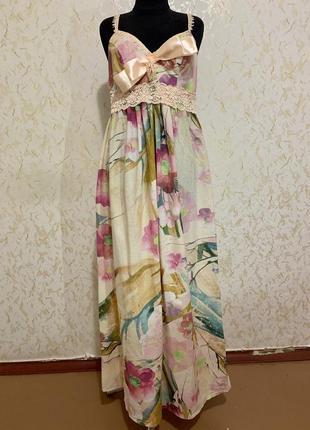 Изумительное платье миди
