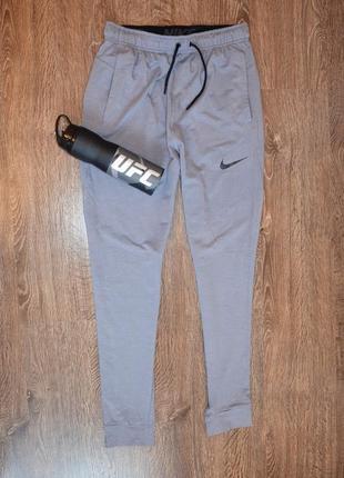 Nike ®dri-fit training pant оригинальные спортивные штаны серые
