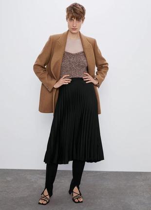 Новый шерстяной двубортный пиджак пальто zara xs, s, m, l