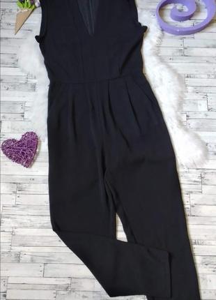 Комбинезон брюки оodji женский черный