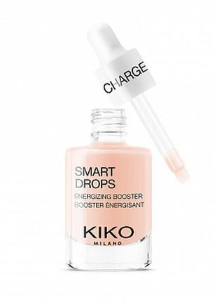 Концентрат для лица с тонизирующим эффектом smart charge drops от kiko milano