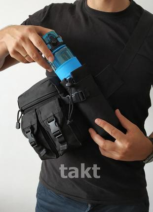 Универсальная тактическая сумка качество топ (черная)