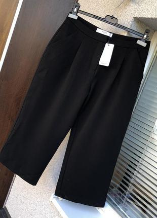 Новые брюки кюлоты штаны италия mango штани