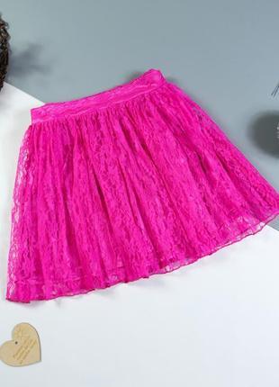 Ажурная юбка на 11-12 лет/146 см.