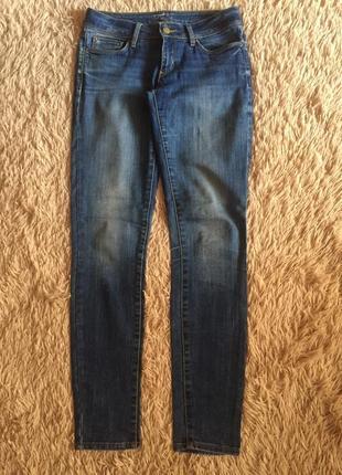 Фирменные прямые джинсы colins, размер s