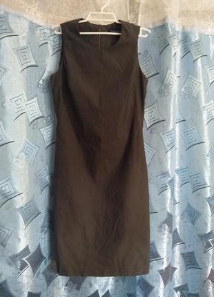 Женское платье (тёмная олива)