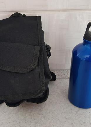 Спортивная сумка с бутылкой (код 11)