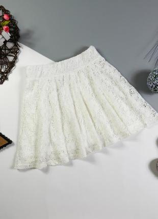 Ажурная юбка на 9-10 лет/134-140 см.