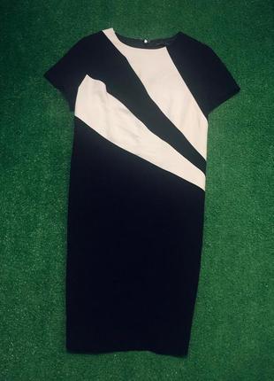 Стройнящее платье миди большого размера батал