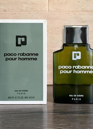 Paco rabanne pour homme винтаж