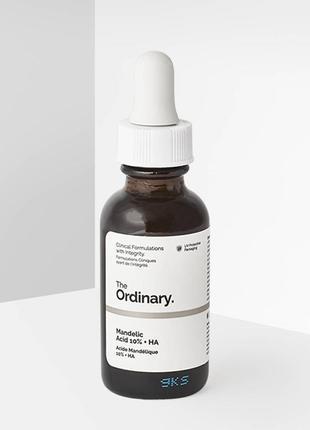 The ordinary | mandelic acid 10% ha | легкий пилинг с миндальной кислотой - 30 ml
