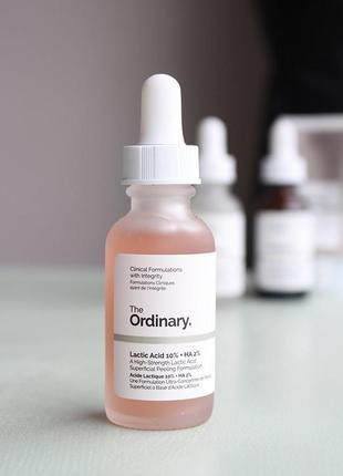 Lactic acid 10% ha | the ordinary | пилинг с молочной кислотой 10%