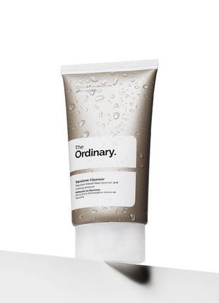 The ordinary   squalane cleanser   очищающий бальзам для лица