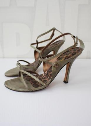 Шикарные кожаные босоножки latino sole