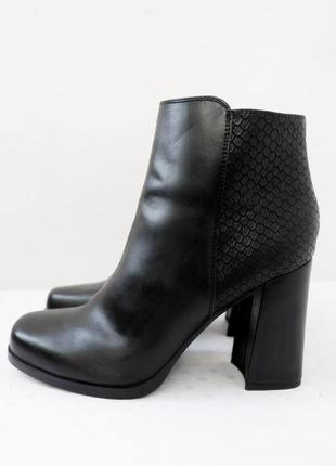 """Крутые стильные демисезонные ботинки, ботильоны """"catwalk"""". размер uk 7/ eur 40."""