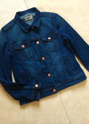 Брендовая джинсовая куртка mango, 12 размер.