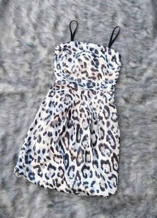 Платье бюстье на съёмных бретелях tally weijl