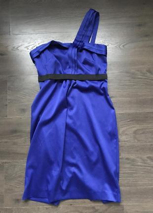 Синее электрик платье river island