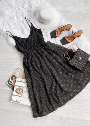 Платье в горох от  3 suisses collection